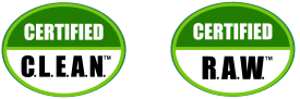 Certified C.L.E.A.N. / Certified R.A.W.