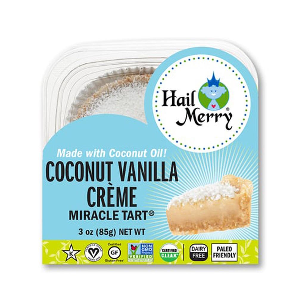 Coconut Vanilla Creme Tart