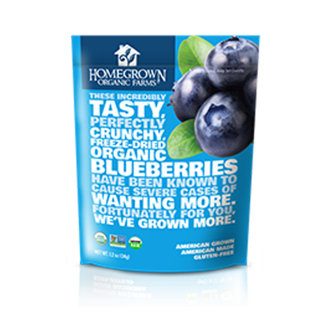 Thomas Creek Farms Organic Blueberries