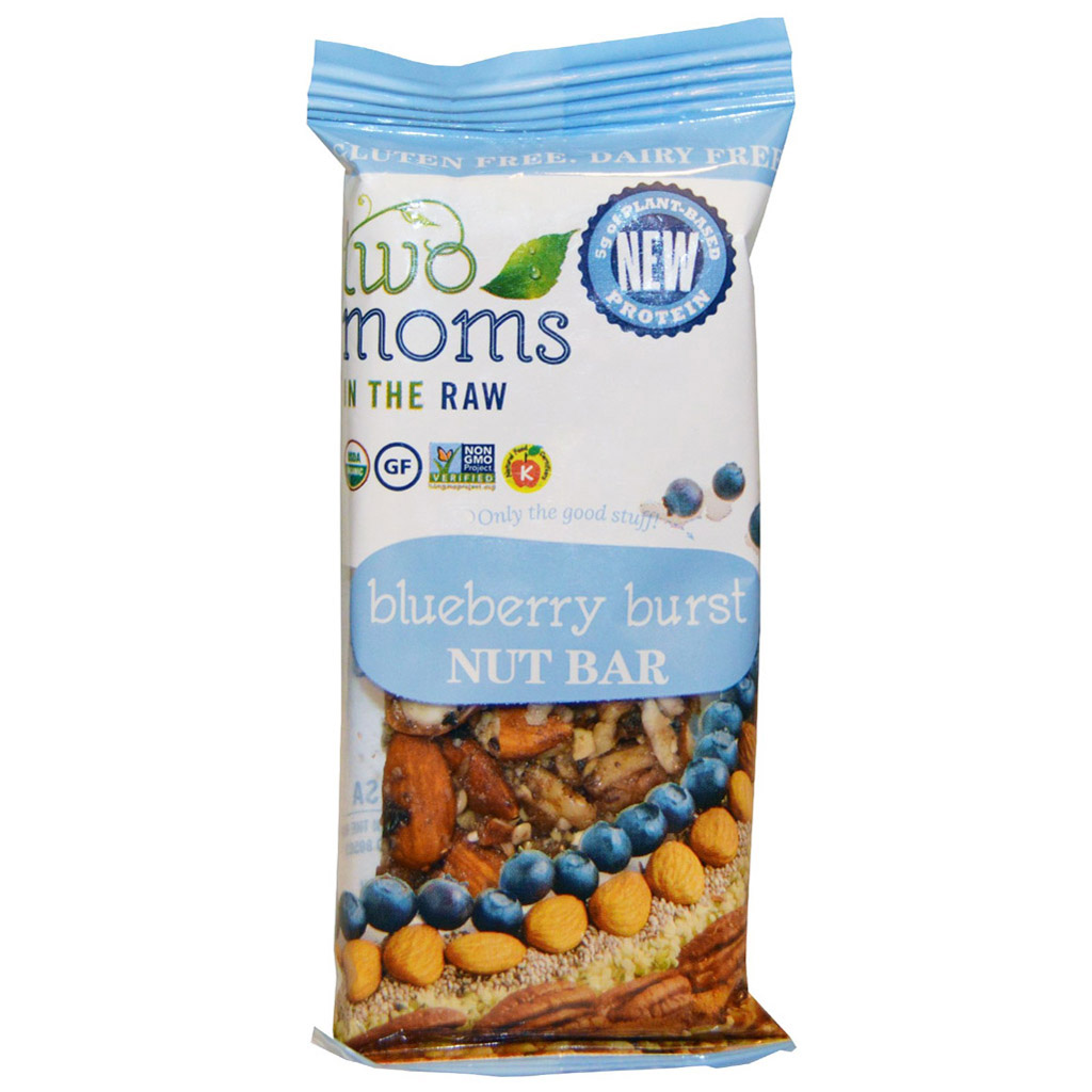 Two Moms Blueberry Burst Nut Bar