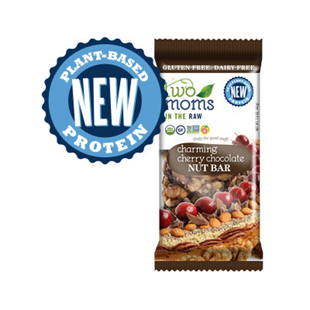 Two Moms Charming Cherry Chocolate Nut Bar