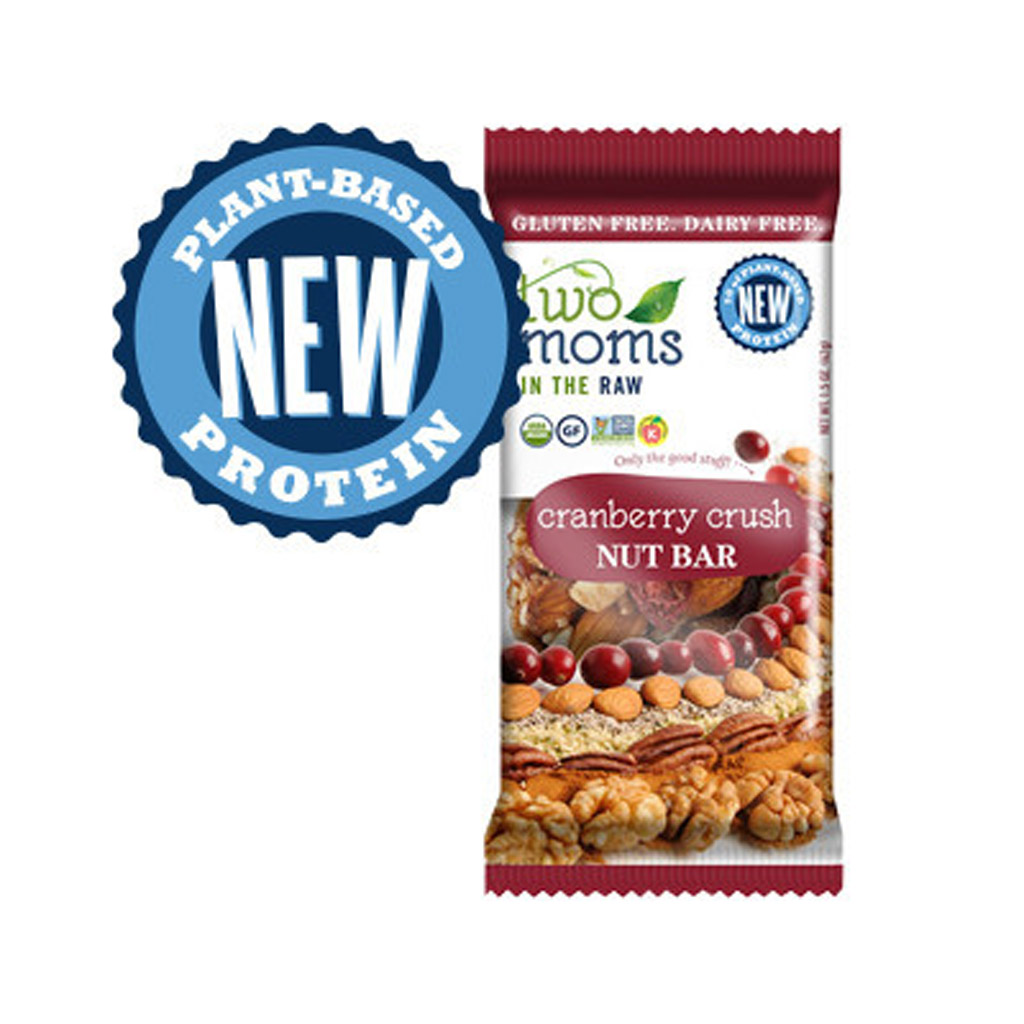Two Moms Cranberry Crush Nut Bar