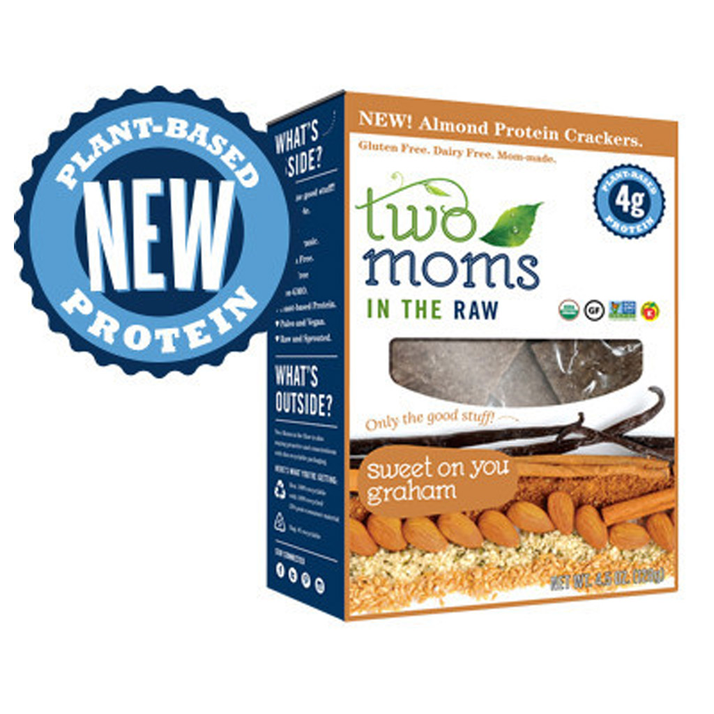 Two Moms Sweet On You Graham Protein Crackers
