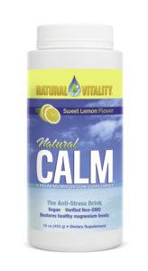 Natural Vitality Sweet Lemon Flavour