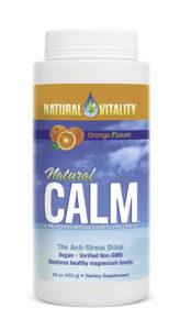 Natural Vitality Orange Flavour