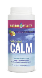 Natural Vitality Raspberry Lemon Flavour