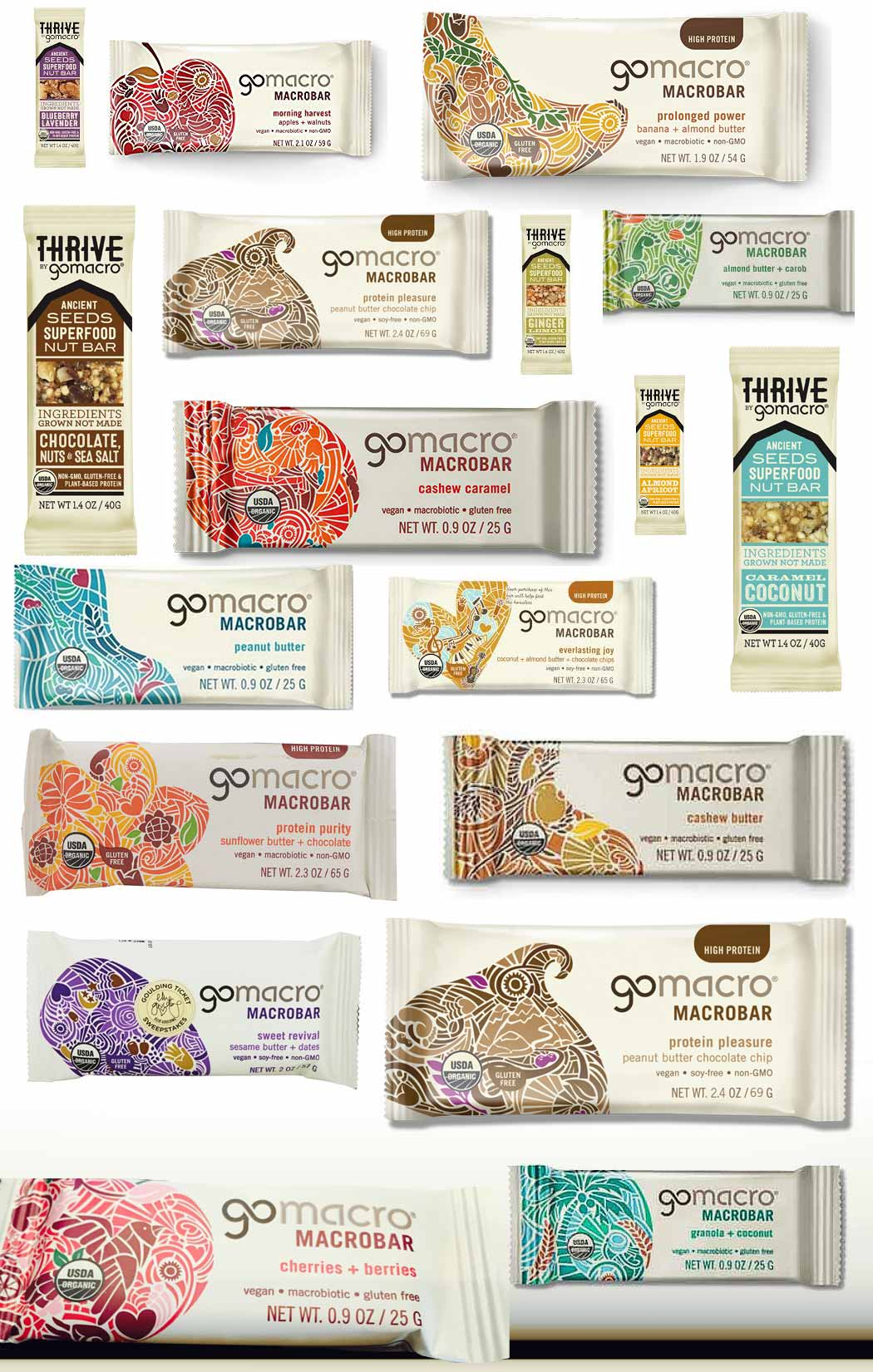 Certified GoMacro Products