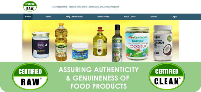 Rediscovering Good Food - Certified R.A.W.®/Certified C.L.E.A.N.®