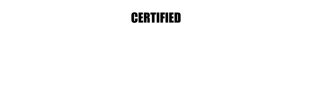 Certified C.L.E.A.N. Banner