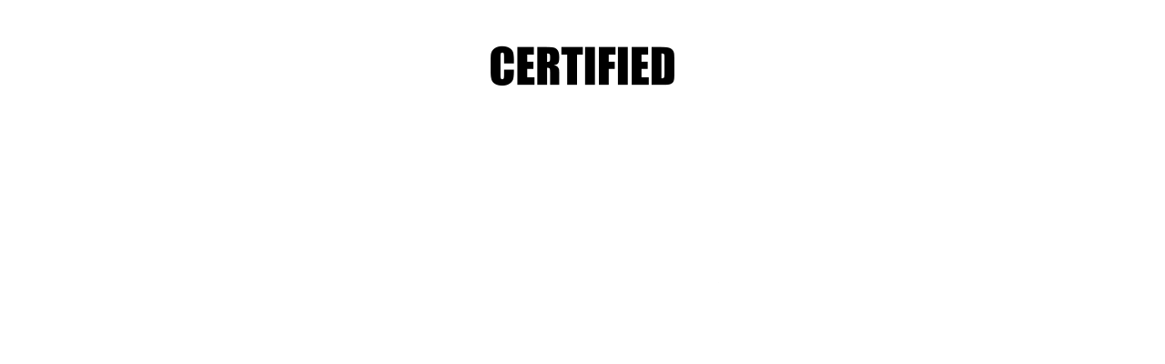 Certified R.A.W. Banner