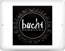 Buchi Kombucha Logo